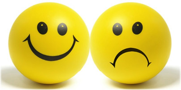 20120907-Ben Jij Gelukkig in je Werk? - thinkstock_rf_photo_of_happy_sad_faces_Source Unknown 580x288